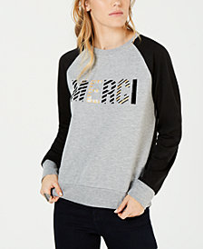 Carbon Copy Merci Colorblocked Sweatshirt