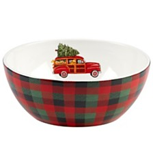 Certified International Home for Christmas Deep Bowl