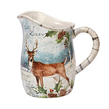 Certified International Winter Lodge Pitcher