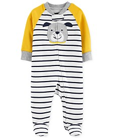 Carter's Baby Boys Cotton Dog Coverall