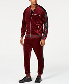 I.N.C. Men's Velour Track Jacket & Jogger Pants, Created for Macy's