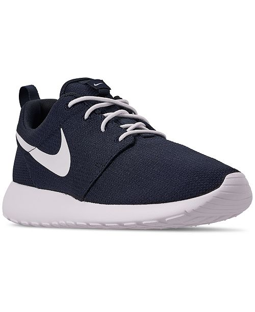 buy online 8de5a b8db5 Nike Men s Roshe One Casual Sneakers from Finish ...