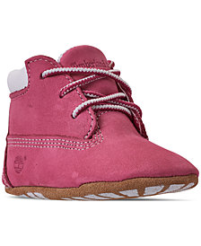 Timberland Baby Girls' Crib Booties and Cap Set from Finish Line