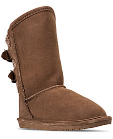 Bearpaw Girls' Boshie Boots from Finish Line