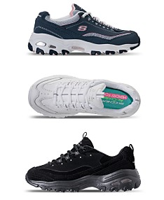 305dcf5444ca6 Skechers Women's D-Lites - Life Saver Wide Walking Sneakers from Finish Line