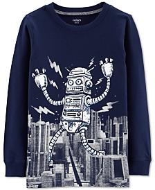 Carter's Little & Big Boys Cotton Robot T-Shirt