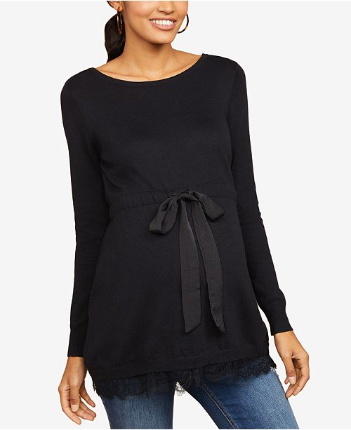 Motherhood Maternity Babydoll Sweater