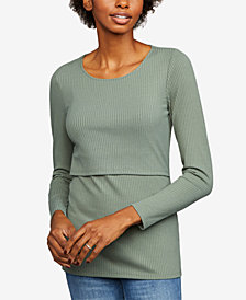 A Pea In The Pod Tiered Nursing Top