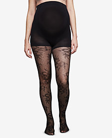 A Pea In The Pod Maternity Lace Tights