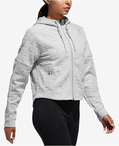 adidas ID Topography Cropped Hoodie