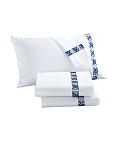 LUX-BED Sarita Garden 4-Pc Queen Sheet Set