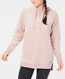 Calvin Klein Performance Side-Zip Tunic Hoodie