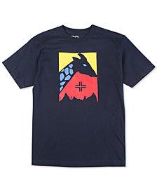 LRG Men's Color Focus Giraffe Logo Graphic T-Shirt