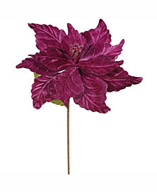 "Vickerman 22"" Mauve Poinsettia Artificial Christmas Flower"
