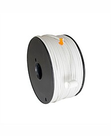 500' White 18 Gauge Spt1 Wire Only Spool