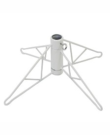 Vickerman 40 inch White Folding Metal Christmas Tree Stand
