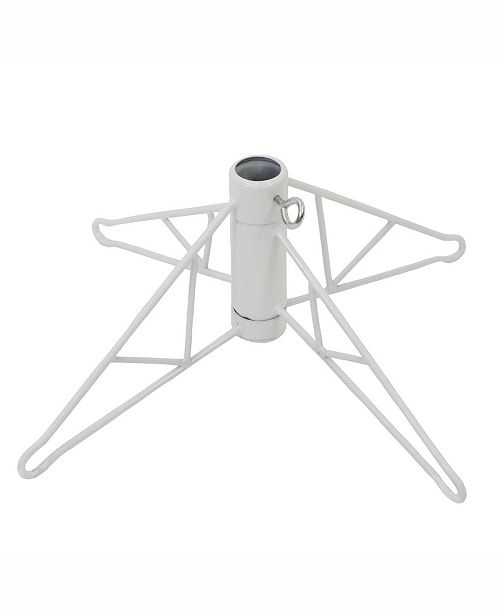 Product Details 40 White Folding Metal Tree Stand