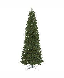 Vickerman 8.5 ft Oregon Fir Slim Artificial Christmas Tree
