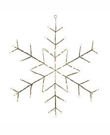 "Vickerman 48"" C7 Led Snowflake Wire Silhouette"