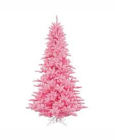 Vickerman 3' Pink Fir Artificial Christmas Tree