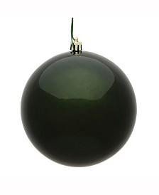 "Vickerman 6"" Moss Green Candy Uv Treated Ball Christmas Ornament"