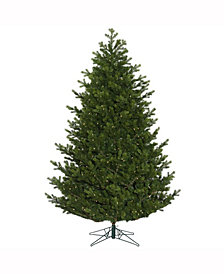 """7.5' X 60"""" Eagle Frasier Full Artificial Christmas Tree Features 3357 Pe/Pvc Tips"""