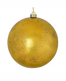 """6"""" Gold Foil Ornament 4/Bag"""