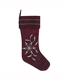 Vickerman Decorative Christmas Stocking