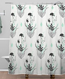 Iveta Abolina Mint Tea Shower Curtain