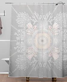 Iveta Abolina Bermuda Rose Shower Curtain