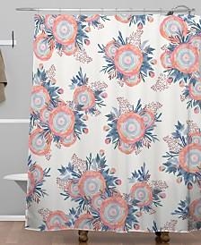 Deny Designs Iveta Abolina Morning Whispers Shower Curtain