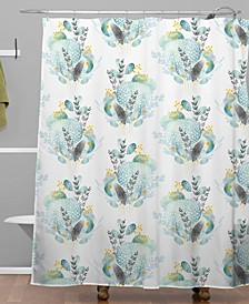 Iveta Abolina Seaflower Shower Curtain