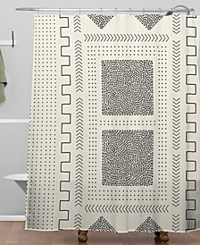 Iveta Abolina Mud Cloth Inspo II Shower Curtain
