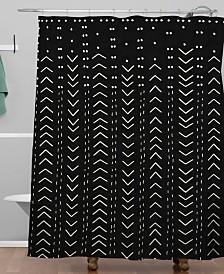Deny Designs Iveta Abolina Mud Cloth Inspo VII Shower Curtain