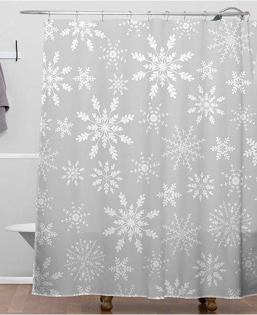 Deny Designs Iveta Abolina Lapland II Shower Curtain