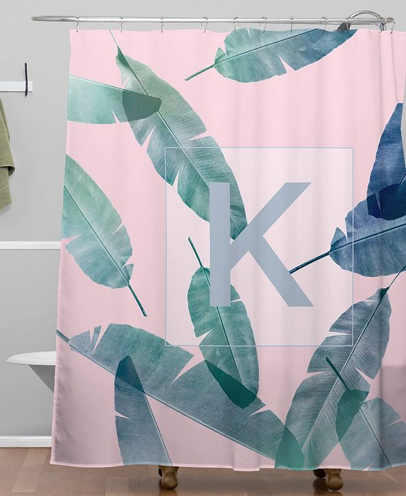 Deny Designs Iveta Abolina Peaches N Cream K Shower Curtain