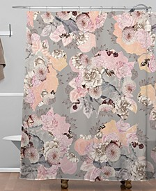 Iveta Abolina Vintage Dalia Shower Curtain