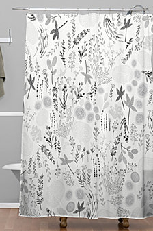 Deny Designs Iveta Abolina Floral Goodness III Shower Curtain