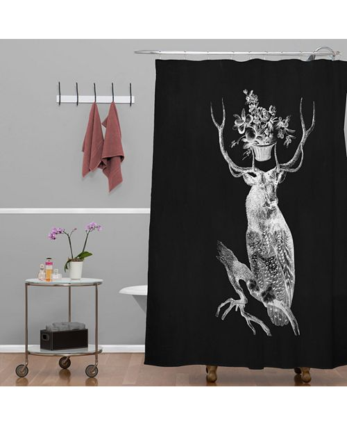 Deny Designs Iveta Abolina Feathered Arrows Shower Curtain
