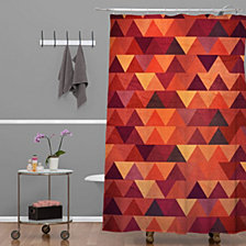 Deny Designs Iveta Abolina Wiener Dog Shower Curtain