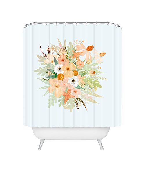 Deny Designs Iveta Abolina Ada Garden III Shower Curtain
