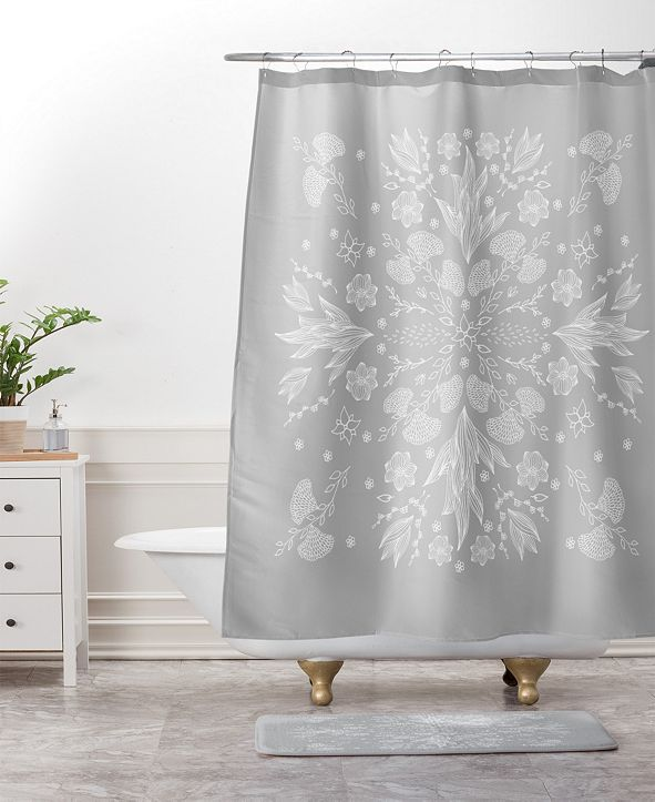Deny Designs Iveta Abolina Study in Gray I Bath Mat