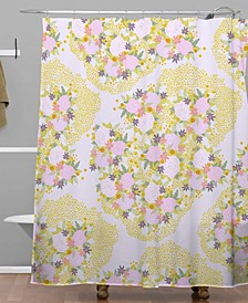 Iveta Abolina Babette Garden Shower Curtain