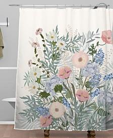 Deny Designs Iveta Abolina Camille Shower Curtain