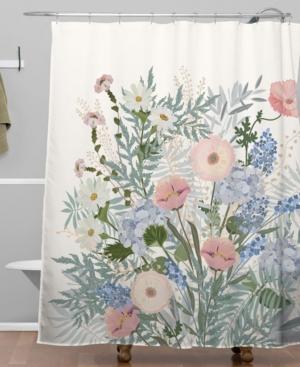 Creative Bath Accessories, Sheer Ruffles Shower Curtain ...