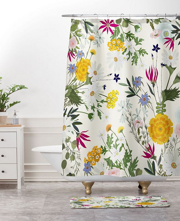 Deny Designs Iveta Abolina Fleur I Bath Mat