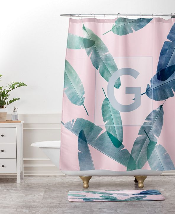 Deny Designs Iveta Abolina Peaches N Cream V Bath Mat