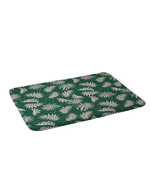 Deny Designs Holli Zollinger Urban Jungle Palm Bath Mat