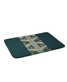 Deny Designs Holli Zollinger Chateau Peacock Bath Mat