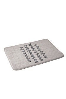 Deny Designs Holli Zollinger French Linen Tri Arrow Bath Mat